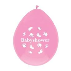 Ballonnen Babyshower meisje 6st