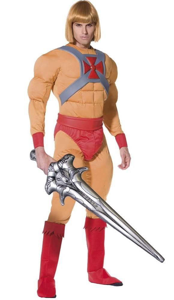 Heroische man kostuum Adam