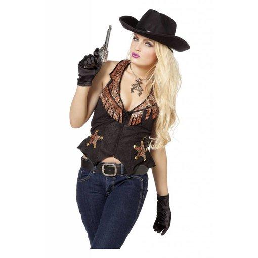 Cowboyvest vrouw