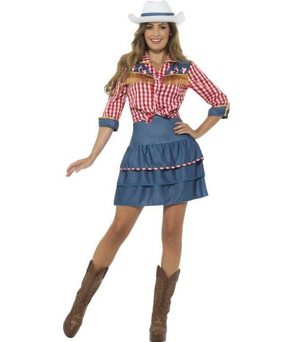 Rodeo Doll Cowboy kostuum vrouwen