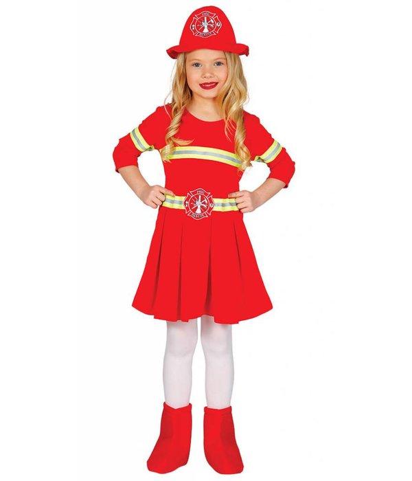 Brandweer meisjes kostuum