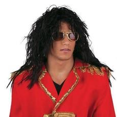 Pruik king of pop