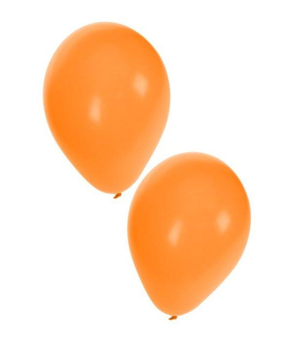 Ballonnen 50x oranje