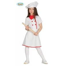 Kokkin kostuum meisje