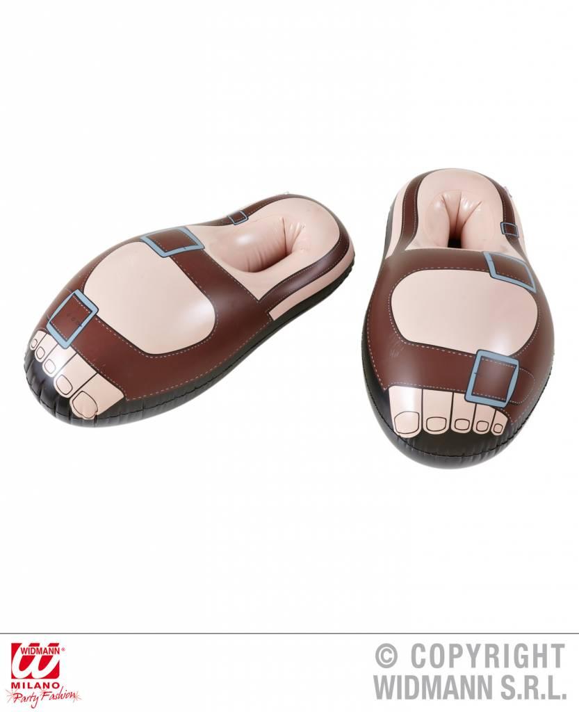 Opblaasbare Sandalen