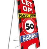 Waarschuwingsbord 50 Sarah