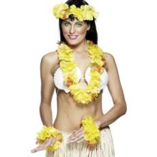 Hawaii verkleedset geel
