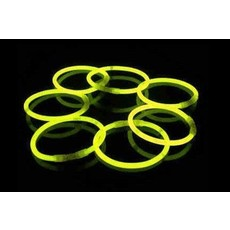 Glow in Dark armbanden geel