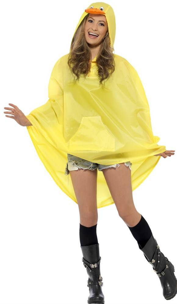 Party Poncho festival eend