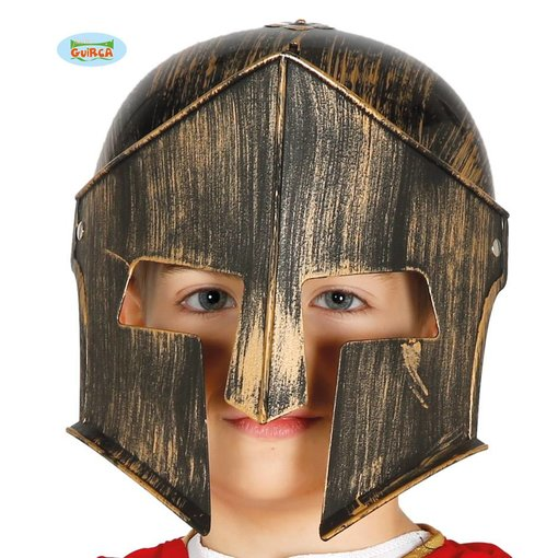 Spartaanse helm kind