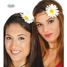 Hippie bloem hoofdband
