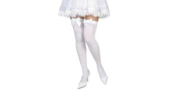 Witte panty - legging - kousen