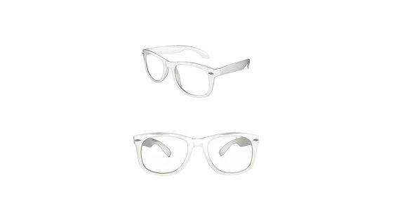 Witte bril