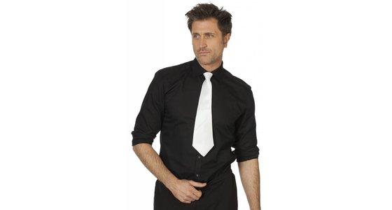 Witte stropdas - strik