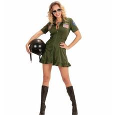 Sexy gevechtspilote jurkje