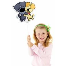 Mini Figuurballon Woezel en Pip