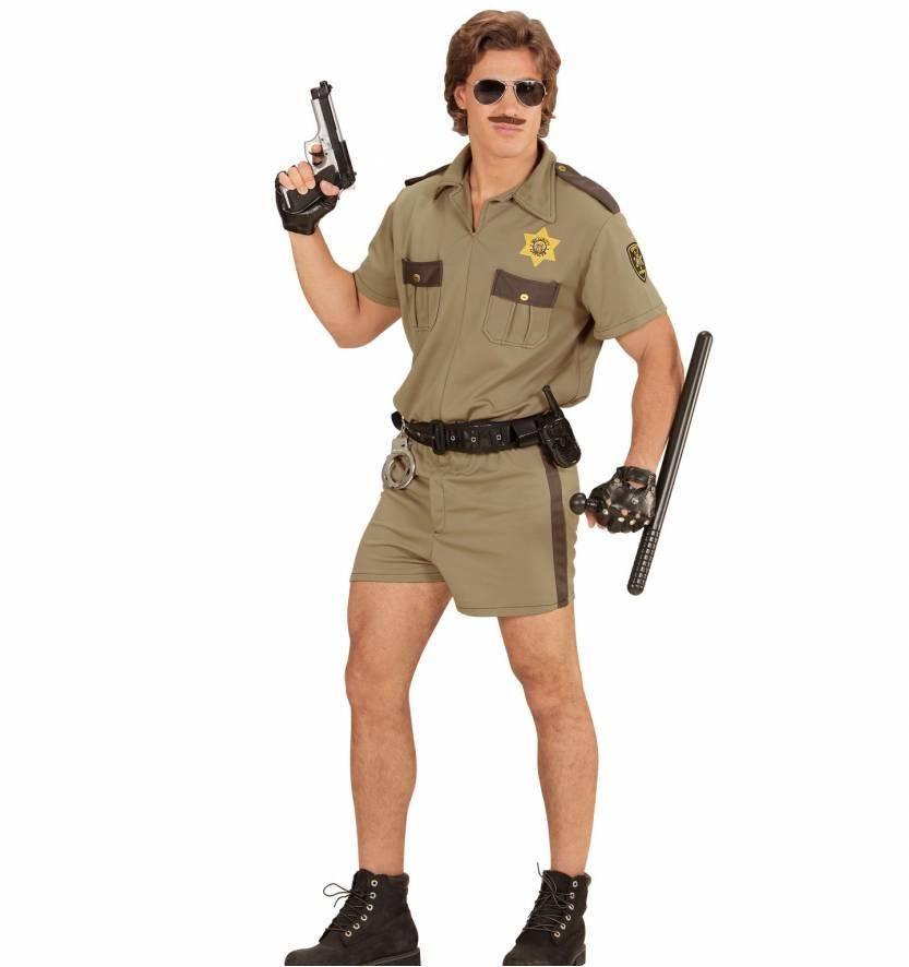 Highway agent kostuum man