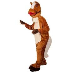 Mascotte verkleedpak paard