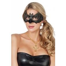Masker Vleermuis zwart