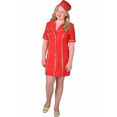 Stewardess kostuum meisje