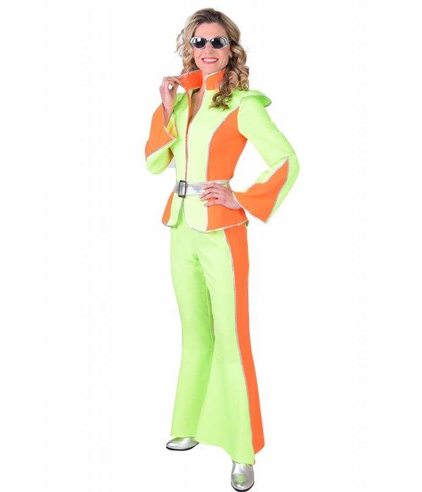 Disco space kostuum dames