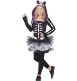Skelly Cat Halloween kostuum kind