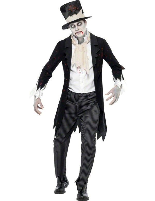 Zombie Bruidegom kostuum