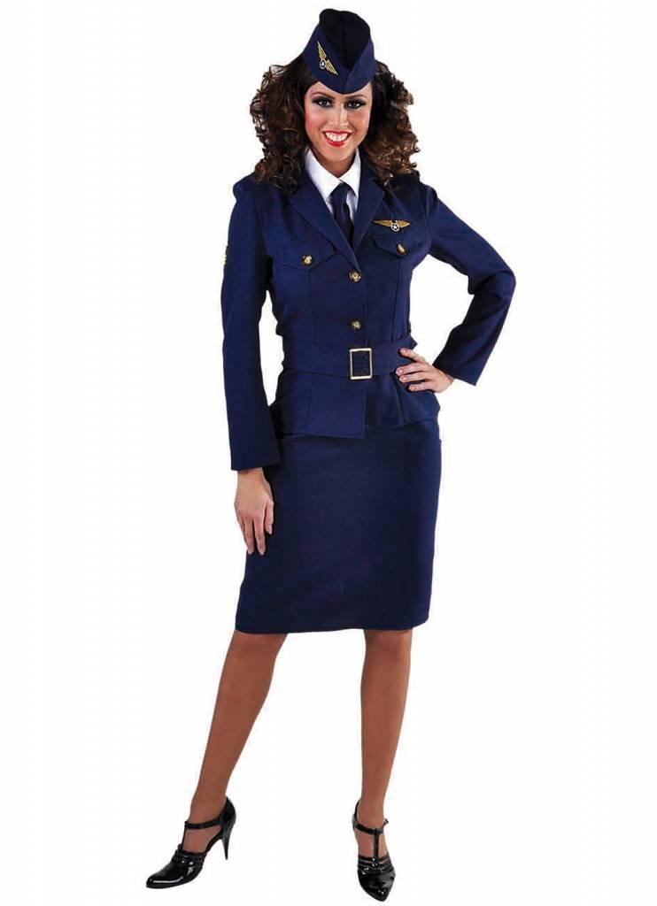 Piloten outfit dames jaren 40