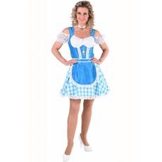Oktoberfest jurk Turquase