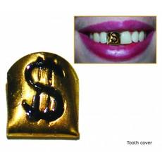 Gouden Gangster tand dollar teken