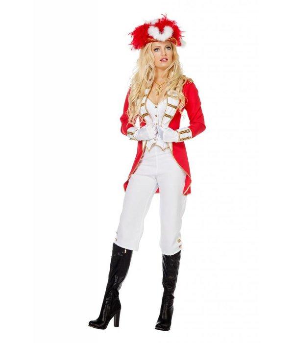 Garde Musketier kostuum dames