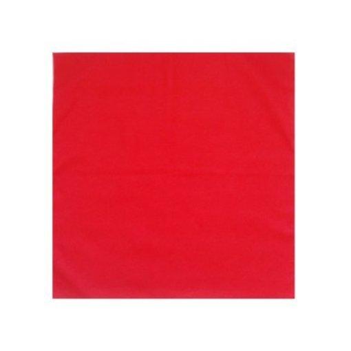 Boerenzakdoek uni rood