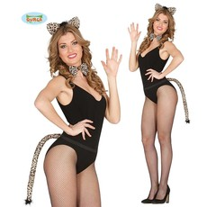 Luipaard verkleedset 3-delig
