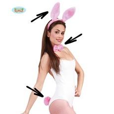 Bunny Set Roze