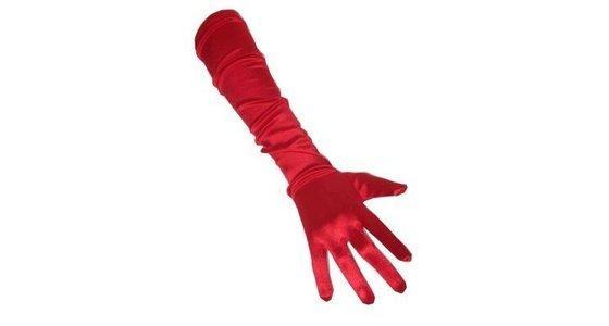 Rode handschoenen