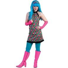 Retro disco jurkje dames