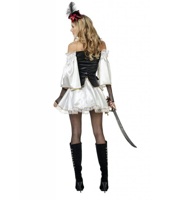 Sexy piratenoutfit vrouw
