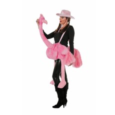 Roze Struisvogel pak