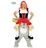 Carry me kostuum Roodkapje wolf