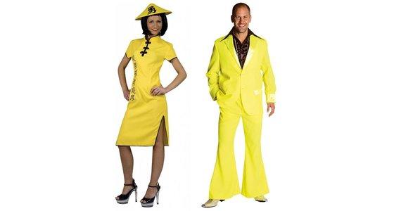 Gele kleding