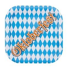 Oktoberfest bordjes (6 stuks)