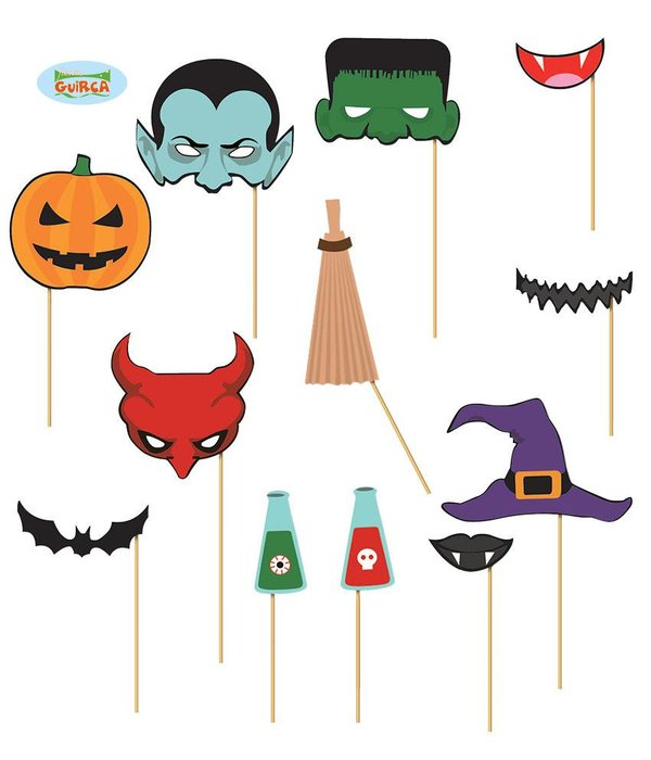 Photo Booth Set Halloween