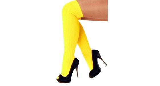 Gele legging - panty - kousen