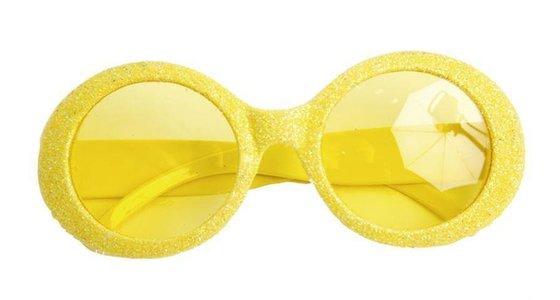Gele bril