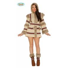 Sexy eskimo kostuum vrouw