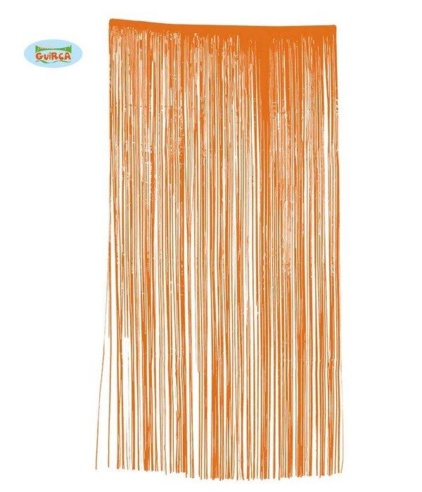 Deurgordijn Oranje