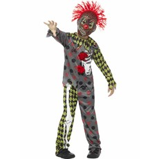 Twisted Clown kostuum kind Halloween