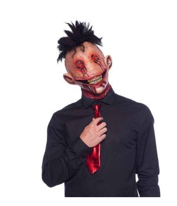 Halloween Masker.Demon Masker Hanekam Latex Halloween Feestbazaar Nl