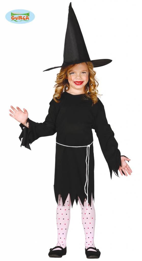 Heksenmeisje kostuum basic