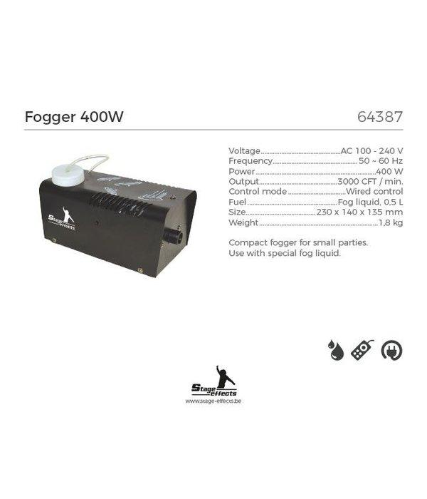 Rookmachine 400w